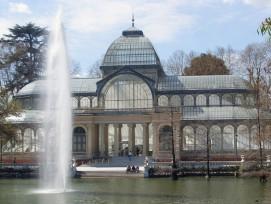 Auch am Tag ein schöner Anblick: der Palacio de Cristal. (Abi Skipp/flickr CC)