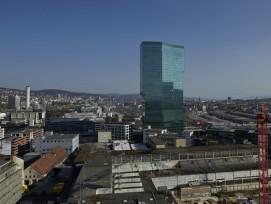 Der Prime-Tower im Herzen von Zürich. (zvg)