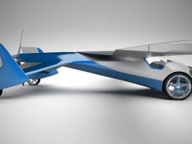 Der Prototyp des AeroMobil 3.0. (zvg)