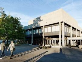 Das Hauptgebäude der Universität St. Gallen (zvg)