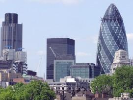 "Hochhaus ""Gherkin"", London (wikimedia.org, Arpingstone, CC)"