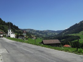 Ortsteil Cerniat der fusionierten Gemeinde Val-de-Charmey (wikimedia.org, Terfili, CC)