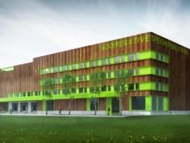 Visualisierung Kooperative Speicherbibliothek (GZP Architekten, Luzern)