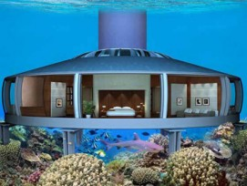 "Unterwasser-Residenz ""H2ome"" (Quelle: www.ussubstructures.com)"