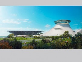 Das Museum erinnert an eine Scienc-Fiction-Landschaft... (zvg)