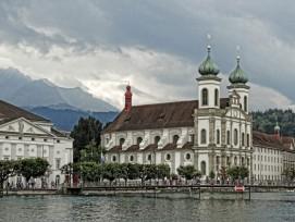 Die Jesuitenkirche in Luzern (flickr, Terence Faircloth, CC)