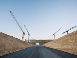 Baustelle Stades de Bienne, Einfahrt (zvg)