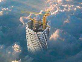 Turmhohes Denkmal: So stellen sich die Architekten ihr Denkmal vor. 8zvg)