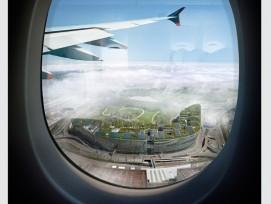 """The Circle"" aus dem Flugzeug (zvg)"