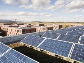 Pilotprojekt Batteriespeicher: Die Stromproduktion dieser Solaranlagen kann neu gespeichert werden. (zvg)