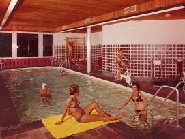 Hotel Bélvedère, St. Moritz (GR) um 1970. (Kunstanstalt Brügger, Meiringen / zvg)
