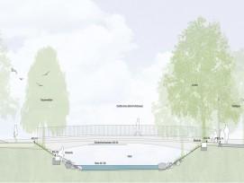Schnitt des Brückenprojekts (zvg)