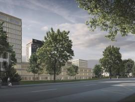 Das zukünftige Spitalareal (Fawad Kazi Architekt GmbH)