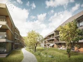 """Das Projekt """"Reussperle"""" in Buchrain (zvg)"""