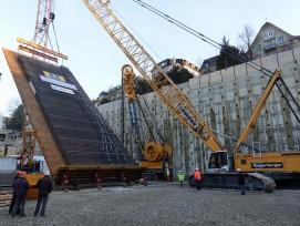 50 Tonnen Stahl wurden zu einem Bewehrungskorb zusammengeschweisst. (Alle Fotos: Claudia Bertoldi)