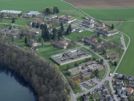 Luftbild des PUK-Areals in Richtung Südosten (Quelle: ARE)