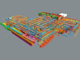 3D-Modell der Haustechniker (Losinger Marazzi)