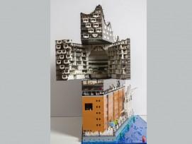 Die Elbphilharmonie, nachgebaut aus Legosteinen (Quelle: brickmonkey.net)