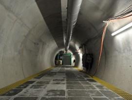 Bahntechnik im Ceneri-Basistunnel. (Bild: zvg)