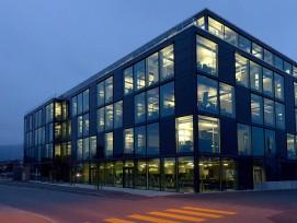 Solar-Technologie-Zentrum in Thun.