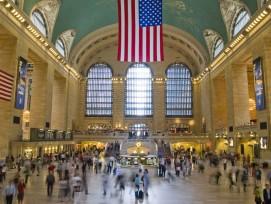 Platz 1: Grand Central Terminal New York, USA, 67 Gleise (Javier G. R., CC BY-SA 3.0, commons.wikimedia.org)
