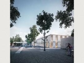 So soll der Campus Sport aussehen. (Visualisierung ARGE Caesar Zumthor Architekten & Markus Stern, Architekten, Basel)