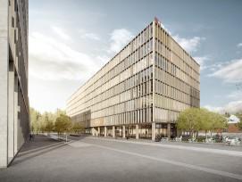 Das neue IT-Gebäude stammt aus der Feder der MOKA Architekten. (SBB)
