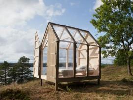 The 72 Hour Cabin (Bild: Visit Sweden, Maja Flink)