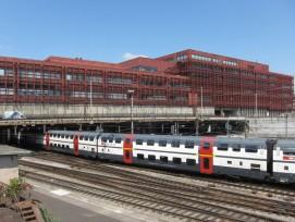 Das ungeliebte Post-Reitergebäude beim Bahnhof Basel SBB