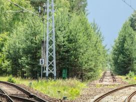 Bahngleise, Symbolbild.