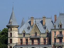 Das Schloss wurde zwischen 1846 und 1854 erbaut.