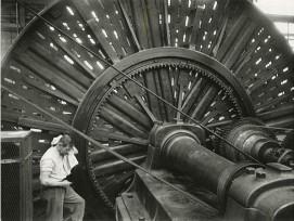 Drehbank, Maschinenfabrik Oerlikon, 1949.