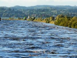 Überschwemmungen bergen grosse Gefahren. Ein Entlastungsstollen soll verstärkten Schutz für Zürich bringen.