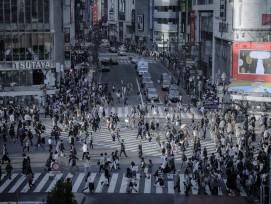 Shibuya-Kreuzung in Tokio