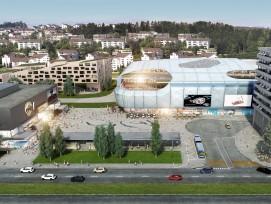 Mall of Switzerland in Ebikon, Visualisierung