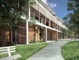 Visualisierung Neubau Kinderspital Zürich