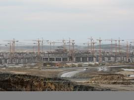 Dutzende Krane ragen in den Himmel: In der Türkei entsteht mit dem Istanbul New Airport der dereinst grösste Flughafen der Welt.