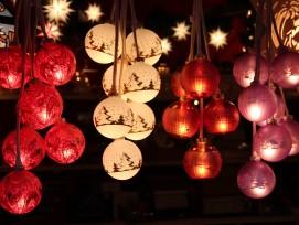 Weihnachtskugeln, Symbolbild.