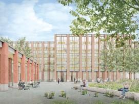 Visualisierung neue Kantonsschule Ausserschwyz