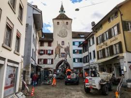 Im Kantonshauptort Liestal wird  die Rathausstrasse umgebaut.  Die wichtigste Einkaufsstrasse soll  zur Flaniermeile werden.