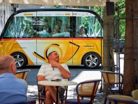 Selbstfahrendes Postauto, Sion VS