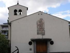 Die 1935 gebaute St. Christophorus-Kirche ist dem Abbruch geweiht.