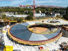 Baustelle des neuen Verwaltungssitzes des IOC.