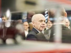Bundesrat Ueli Maurer eröffnet die Swissbau 2018.