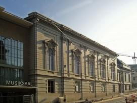 Im September 2020 kann der historische Konzertsaal des Stadtcasinos seinen Betrieb wieder aufnehmen.