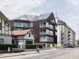 Das Wohnhaus «Solaris» in Zürich.