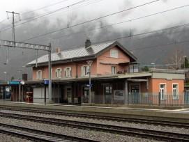 Bahnhofsgebäude in Altdorf