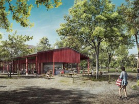 Bis 2021 erhält der Landhof einen neuen Pavillon