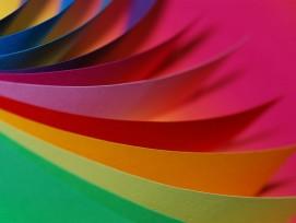 Farbiges Papier, Symbolbild