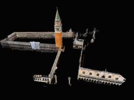 im Rahmen des Forschungsprojekt entstand unter anderem auch ein multidimensionales Modell von Venedig.
